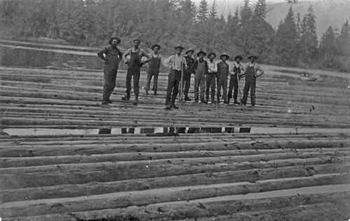 Log pond (Albany, Oregon?) | by OSU Special Collections & Archives : Commons