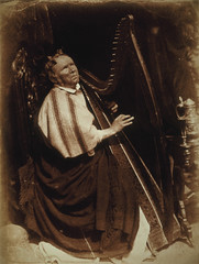 Patrick Byrne, about 1794 - 1863. Irish Harpist | by National Galleries of Scotland Commons