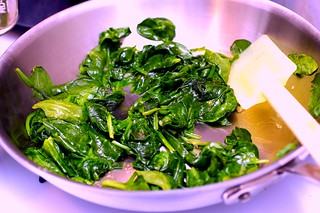 sauteed spinach with garlic | by smitten kitchen