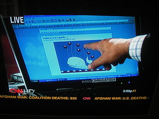 Twitter's Fail Whale on CNN | by LeeLeFever