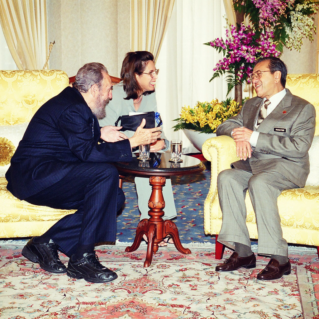 Image result for Castro with Mahathir