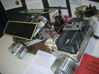 Robot RoVAAR at Intel ISEF 2008 | by KenEKaplan