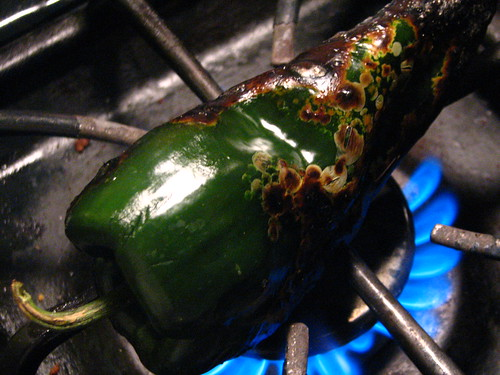 Charring a Poblano | by SeppySills