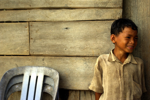 Shy Boy - Southern Cambodia | by The Hungry Cyclist