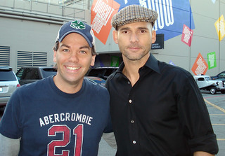 Scott Moore and Eric Bana | by scott moore los angeles