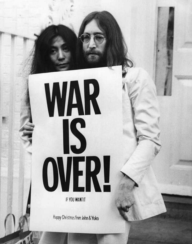 John and Yoko events: WAR IS OVER! (If You Want It)