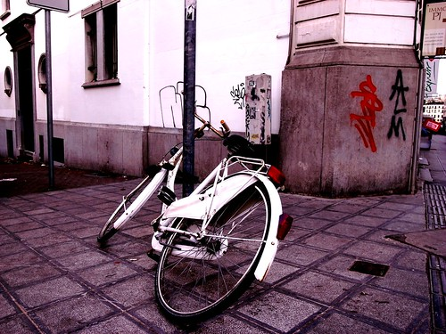 whitebicycle | by Nykoh