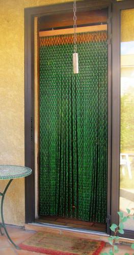 rideau proven al en perles de buis rideaux buis provencaux flickr. Black Bedroom Furniture Sets. Home Design Ideas