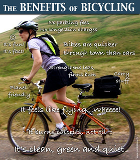 The Benefits of Bicycling | by carltonreid