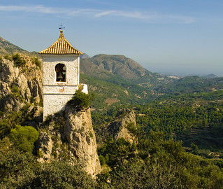 The Bell Tower of Guadalest in the Costa Blanca | by Anguskirk