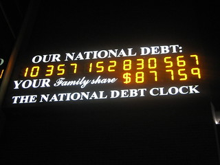 Our National Debt | by Kevin Krejci