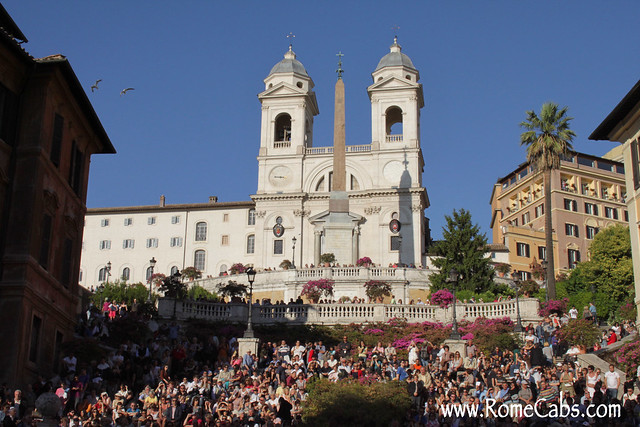 Spanish Steps (Rome in A Day Tour)
