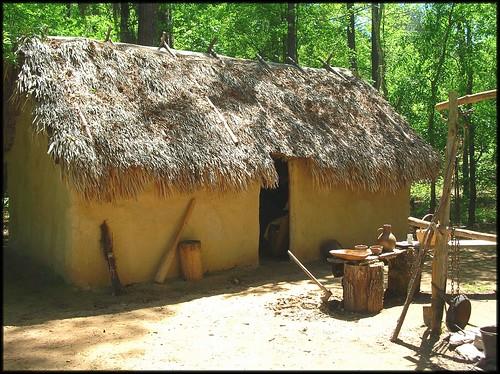 Creek Indian Winter Home Fort Toulouse Wetumpka Al Flickr