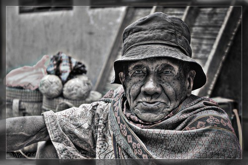 Gritty Market seller | by NeilsPhotography