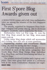 Toto Results (Straits Times 6 Sep 2008)