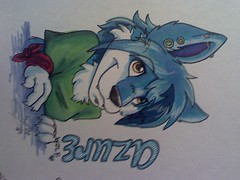 azure badge | by foxyfennec