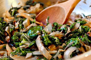 Braised Greens with Black Olives | by Kim | Affairs of Living