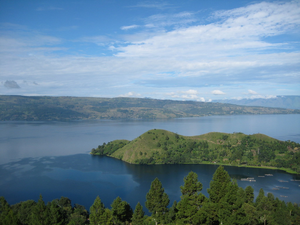 Enjoy The Beautiful Volcanic Landscape At Lake Toba