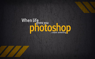 how to create something in photoshop