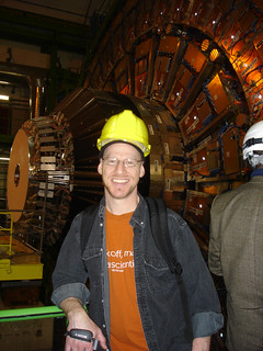 Me at the Large Hadron Collider (CMS) | by thebadastronomer