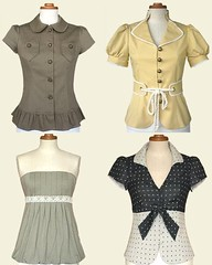 Tskye vintage inspired tops | by mycasserole
