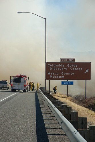 Interstate 84 Fire 062 | by hoodrivernews