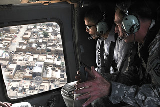 Gen. Petraeus Gives Senator Obama Aerial Tour of Iraq | by DVIDSHUB