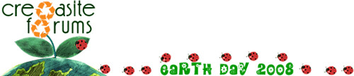 Cre8asite Earth Day Logo | by rustybrick