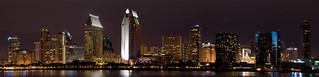 Panoramic San Diego at Night | by Nick Chill Photography
