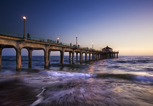The Surf in LA as Night Passes | by Stuck in Customs