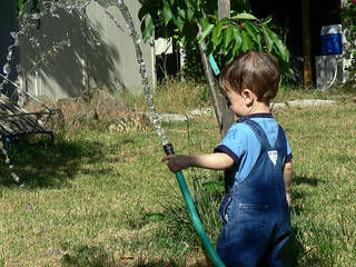 First time playing with a hose | by jessicafm