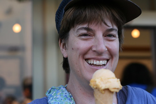 Pam at Ici Ice Cream (Elmwood/Berkeley) | by Food Librarian