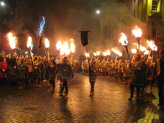 Warriors with Torches | by maritabeth