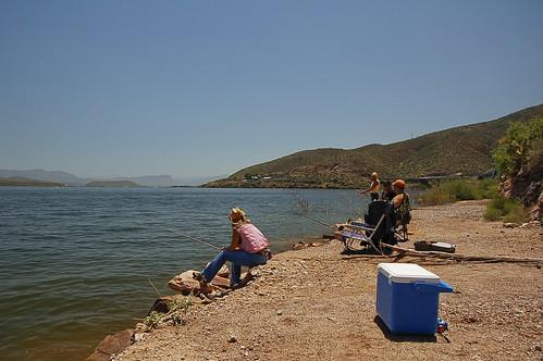 Fishing roosevelt lake az flickr photo sharing for Lake roosevelt fishing report