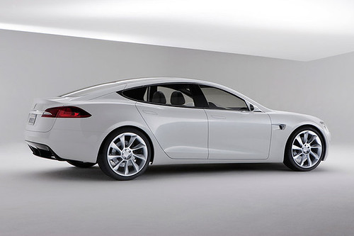 Holy F:  WANT.  (Tesla Model S, four-door sedan).   Super Aston Martin-esque. | by dpstyles™
