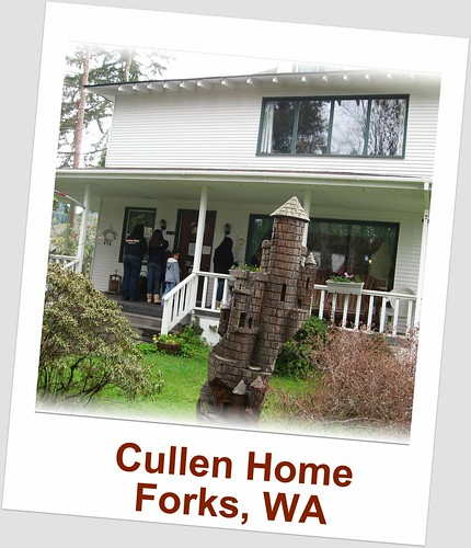 Edward cullen 39 s house forks wa the cullens home is on for Edward cullen house