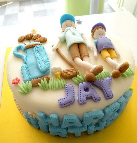 Golf Birthday Cake Sayings
