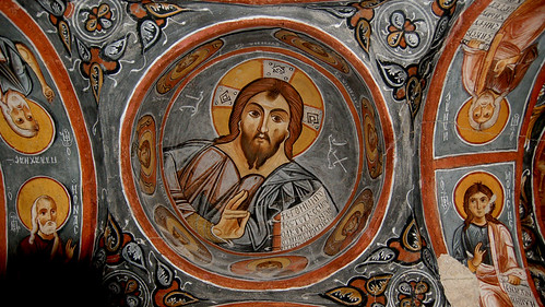 Fresco of Christ Pantocrator | by Curious Expeditions