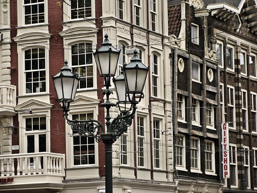Streetlamps and windows