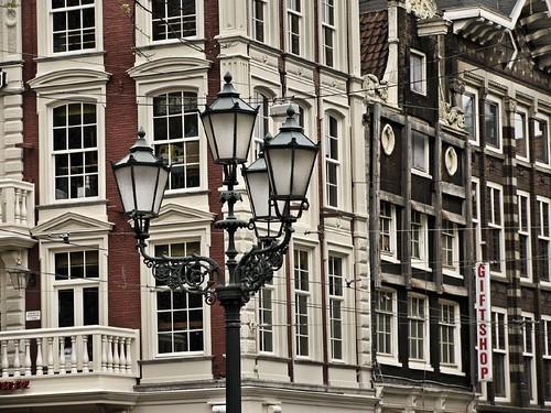 Streetlamps and windows