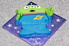 Toy Story Alien Cake | by Memorable-Cakes