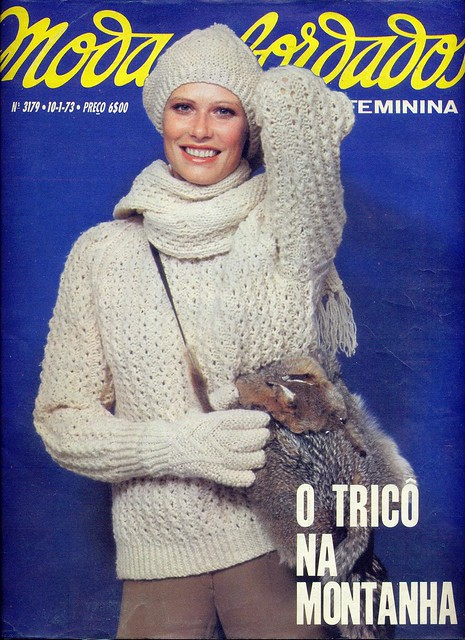 Modas e Bordados, No. 3179, January 10 1973 - cover