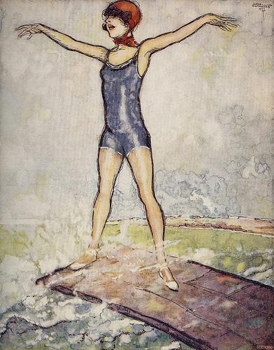 Jorge Barradas, Ilustração (detail), No. 41, September 1 1927 - cover