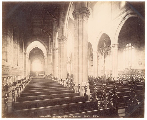 St Andrew's Cathedral, Sydney, 1892-3 / Fred Hardie | by State Library of New South Wales collection