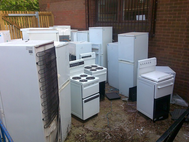 White goods graveyard