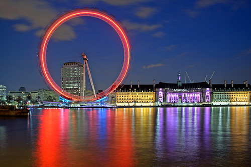 London Eye at Night | by Philipp Klinger Photography