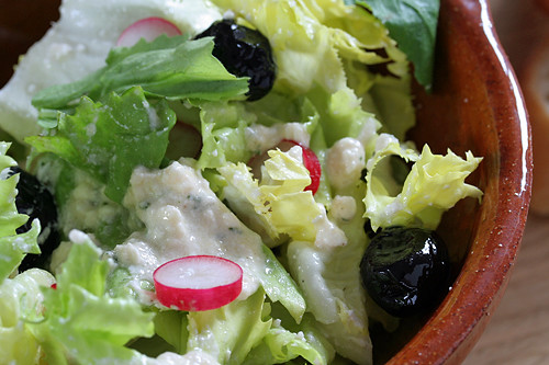 feta dressing | by David Lebovitz