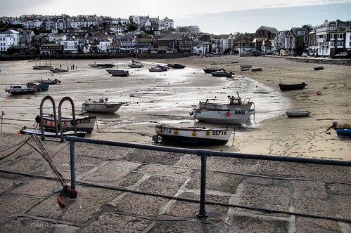 St Ives at low tide