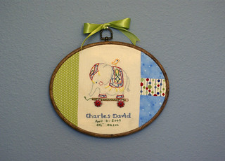 Elephant Sampler for Charlie | by SarahMikk
