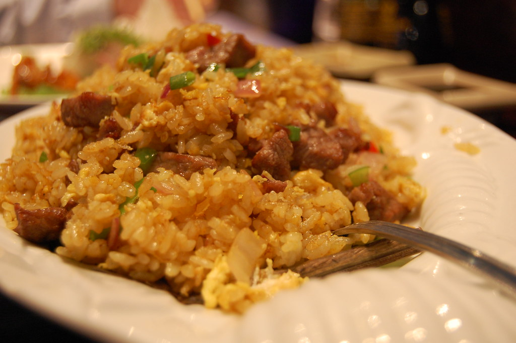 curry beef fried rice